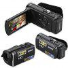 KENUO HD 1080P 16MP Camcorder Digital Video Camera 3.0 TFT LCD 16x Zoom DV Black UK