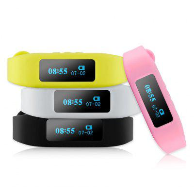 Excelvan OLED Smart Healthy Bracelet Bluetooth V4.0 Wristband