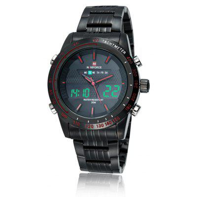 Naviforce 9024 Men LED Watch