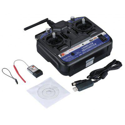 Flysky 2.4G FS-CT6B 6CH Radio Model Remote Control RC Transmitter & Receiver For RC Boat Car