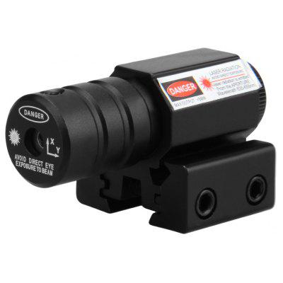 Little Red Dot Laser Sight Scope with 50 to 100 Meters Range 635 - 655nm Adjustable 11mm to 20mm Pistol Picatinny rail