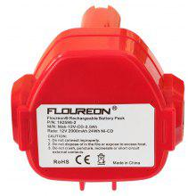FLOUREON® 12V 2.0Ah Ni-CD Battery Replacement for MAKITA 1050D, 1050DA, 1050DRA, 1050DWA, 1050DWD, 5093DWD, 5093DZ, 5093D, 5093DWA