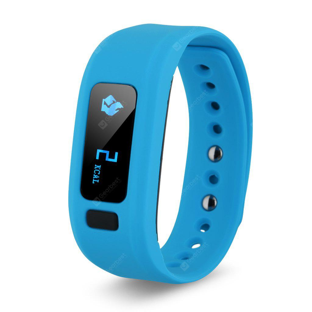 Excelvan moving up2 Smart Healthy Bracelet Bluetooth V4.0 Wristband with Pedometer / Sleep Monitoring / Tracking Calorie/Remote Capture Compatible for Android and IOS