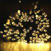 22M Solar Powered Light-Sensitive Light String Decoration Lights 200LED String Outdoor Indoor Starry Fairy Lighting String for Home, Patio, Garden, Holiday, Christmas, Wedding, Party.(200 LED Yellow)