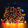 22M Solar Powered Light-Sensitive Light String Decoration Lights 200LED String Outdoor Indoor Starry Fairy Lighting String for Home, Patio, Garden, Holiday, Christmas, Wedding, Party.(200 LED Multi Co