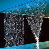 EXCELVAN 3M x 3M 300LED 8 Functions String Light Curtain