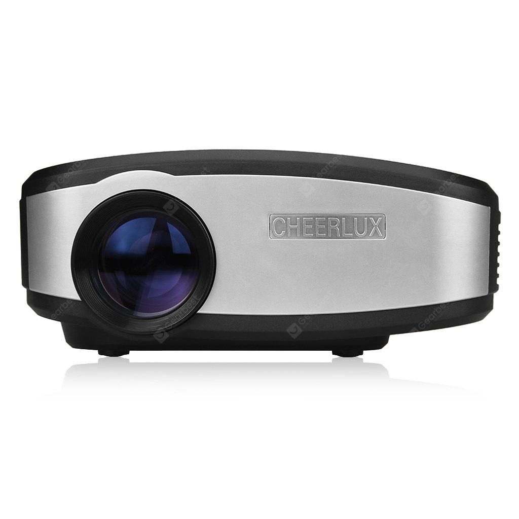 Cheerlux Mini Led Projector 800x480 7643 Free Shipping Unic Uc46 Portable Full Hd 1080p Support Red And Blue 3d Effect With Wifi Connection