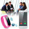Diggro SW19 Smart Health Bracelet Fitness Bluetooth 4.0 Waterproof IP67 Pedometer Message Longsit Reminder Sleep Calories Tracker Remote Capture Music Controller for Android and ios Phone - PINK