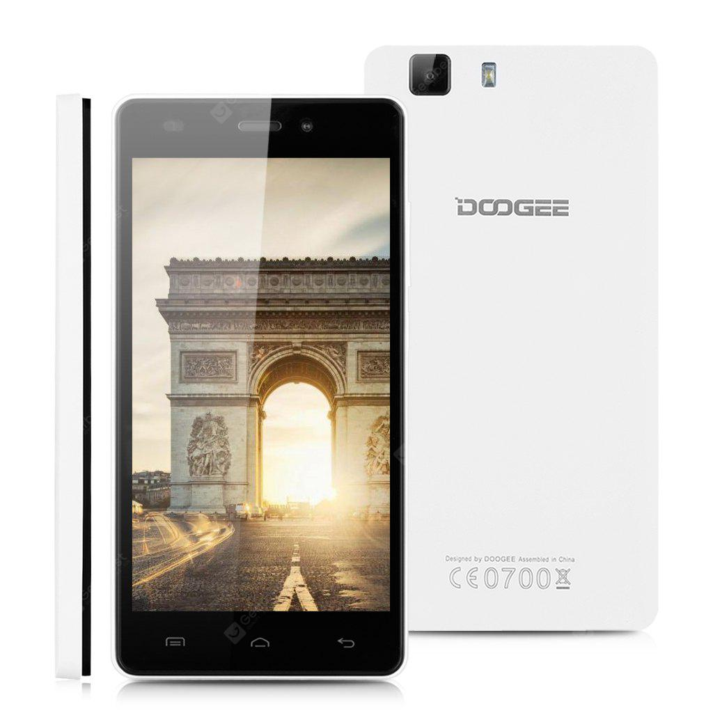 DOOGEE X5 Pro 4G White Phone -  101.16 Free Shipping 75410c45a460