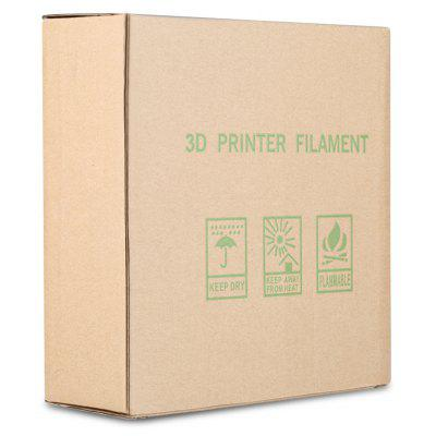 Excelvan New 3D Flexible Filament 1.75mm Elastic for Print RepRap MarkerBot 0.5kg/1.1lbs, Green