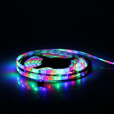 Excelvan 16.4ft 5M Waterproof Flexible strip SMD3528 RGB 300LEDs Color Changing LED Light Strip Kit, IP65 Waterproof, 44Key IR Remote Control+ 2A Power Adapter, Multi-color Blossom Decorative Gardens,