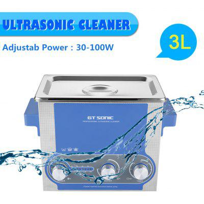 3L Ultrasonic Cleaner Aquecimento Temporizador Power UK Plug