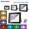 Excelvan®30W Remote Control RGB LED Flood Lights,16 Colours Changing & 4 Modes,IP65 Waterproof,  Security Light & Wall Washer Light Used For Villa,Stage,Ancient Buildings,Culture Square,etc.[Energy Cl