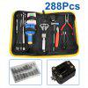Excelvan 288Pcs Watch Repair Tool Kit Set