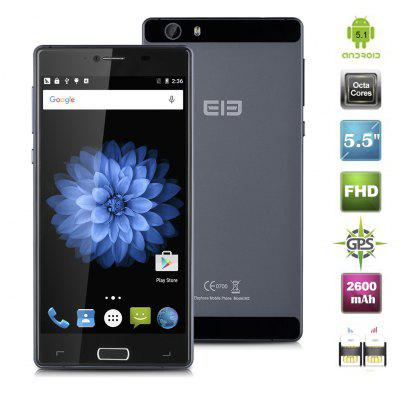 Elephone M2 Android 5.1 MTK6753 Octa Cores 1.3GHz 5.5\\\'\\\' Multi-touch screen FHD 1920*1080 pixels RAM 3GB + ROM 32GB 13M (B camera) & 5M (F camera) 2600mAh GSM Band 2/3/5/8 WCDMA Band 1/5/