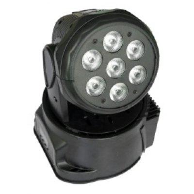 ZX-51 RGBW 4 in 1 DMX Led Spot Moving Head light 7*8W Stage DJ Disco Party Lighting for Club/Taproom/KTV US