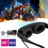 Excelvan HD922 3D Video Glasses Virtual Widescreen Theater - NOIR