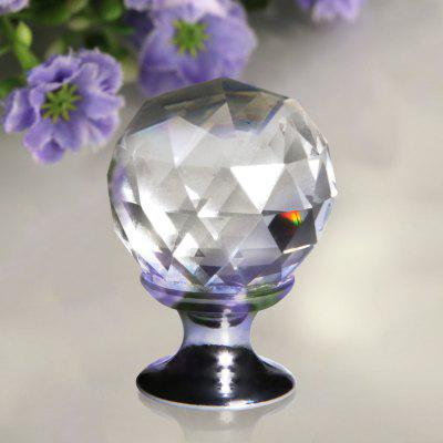 Floureon Crystal Glass Door Knob Screw