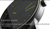 Trasense TS-H03 Bluetooth Smart Watch - BLACK