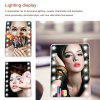 Ovonni L206 LED Touch Screen Makeup Mirror - ALB