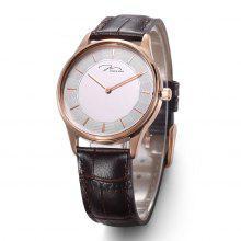 JONAS&VERUS couple watch quartz watch Leather strap watch    female