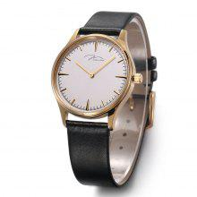 JONAS&VERUS couple watch watch watch quartz watch genuine leather strap watch  female