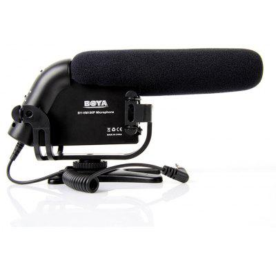 Boya BY-VM190 Unidirectional Condenser Microphone 3.5mm Plug Camera Mounted Shotgun Microphone for Canon 60D 700D 650D 600D Nikon D3200 D600 D4 Pentax K5 K7 Cameras & Camcorders for Interview or Video