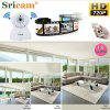Sricam 720P Wifi Megapixel H.264 Wireless PT  CCTV Security IP Camera White UK - NATURAL WHITE