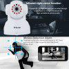 Sricam 720P Wifi Megapixel H.264 Wireless PT  CCTV Security IP Camera White UK - GRAY