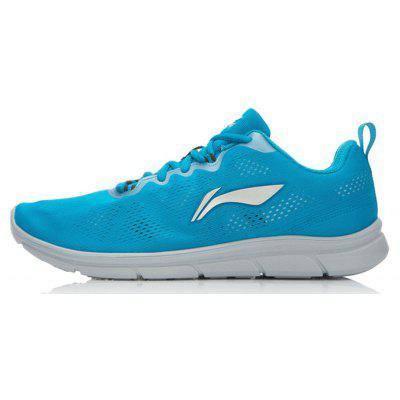 Buy SKY BLUE LI-NIGN men\'s running shoes with light mesh and breathable design for traveling men\'s sport jogging shoes for $39.49 in GearBest store