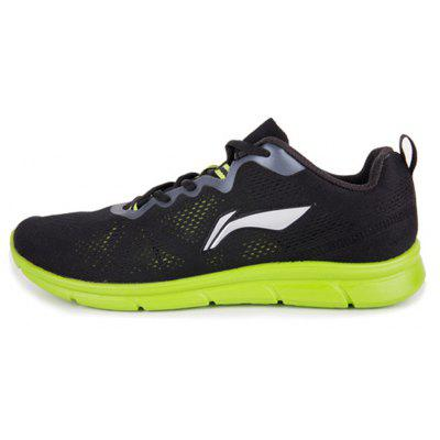 Buy BLACK 8 LI-NIGN men\'s running shoes with light mesh and breathable design for traveling men\'s sport jogging shoes for $39.49 in GearBest store