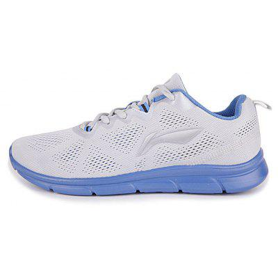 Buy LIGHT GRAY 9 LI-NIGN men\'s running shoes with light mesh and breathable design for traveling men\'s sport jogging shoes for $39.49 in GearBest store