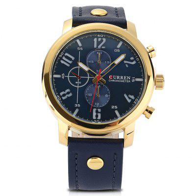 Mens watches best watches for men on sale online shopping Curren leisure style fashion watch price