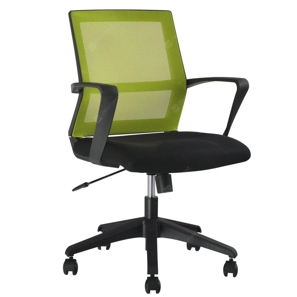Buy LANGRIA Mid Back Green Mesh Swivel Task Chair Office