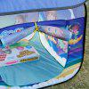 Excelvan Kids Toddlers Pop-up Play Tent Dream Theme Simple Blue Children Game Play Tent, Kids Fun Portable Folding Tent Indoor Outdoor Playhouse Toy