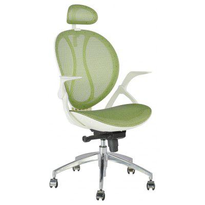(DE MCA188 GREEN) LANGRIA High Back Swivel Green Mesh Executive Office Chair ,