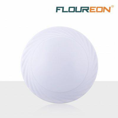 Floureon®18W Round LED Ceiling Light, 6500k Bright Light,1600 Lumens,Round Flush Mount Fixture for Indoor Lighting,Energy Saving, Suitable for Bedroom,Living Room,Kitchen,Balcony.