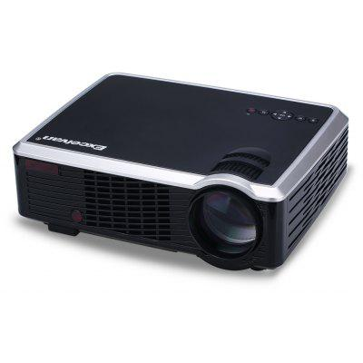 Excelvan 2600 Lumens LED HD Projetor de Cinema ou Teatro PC e laptop Entrada AV / VGA / HDMI / USB