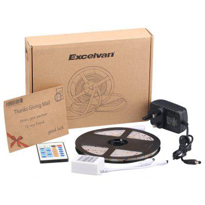 Excelvan 16.4ft 5M Waterproof Flexible Light Strip