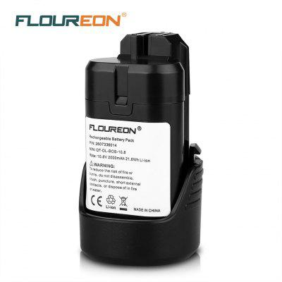 Floureon 10.8V 2000mAh Li-ion Battery for Bosch 2 607 336 014, 2 607 336 864, BAT411, BAT411A, D-70745