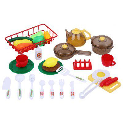 Excelvan Children Electronic Kitchen Role Pretend Play Kit
