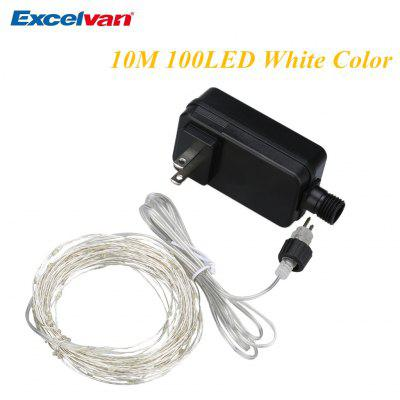 Excelvan White Color Copper String Lights