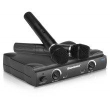 Excelvan K380 Professional Wireless Microphone System