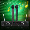 Excelvan K380 Professional Wireless Microphone System - BLACK
