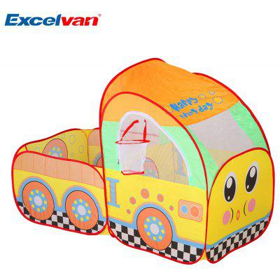 Excelvan Kids Toddlers Truck Teepee Pop-up Play Tent