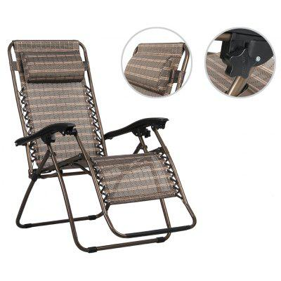 fold lounge chair bronze finether folding zero gravity lounge chair reclining chair with adjustable - Zero Gravity Lounge Chair