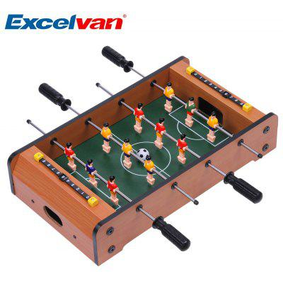 Superbe Excelvan Mini Table Top Foosball 17 Inches Soccer Game Table 17.32 * 9.84 *  3.54 Inches