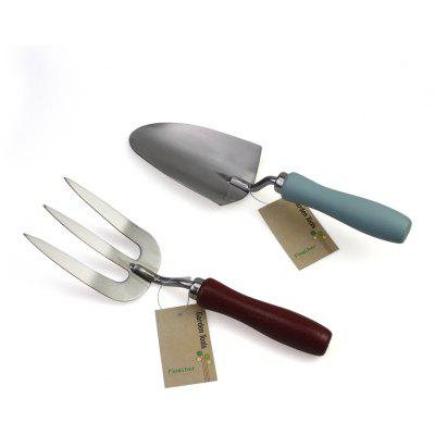 Finether OTYYGJ - 008 Stainless Steel Garden Hand Tool Set