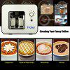 Haier Grind and Brew Automatic 4 Cups Elegant design Warming plate Built-in coffee grinder Coffee Maker - BLACK