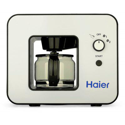 Buy BLACK Haier Grind and Brew Automatic 4 Cups Elegant design Warming plate Built-in coffee grinder Coffee Maker for $74.09 in GearBest store